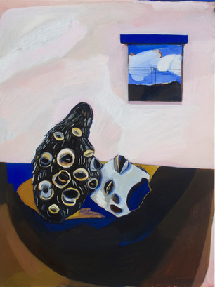 Lisa Carrett, Resting Place, oil on canvas, 60x78cm , 2021