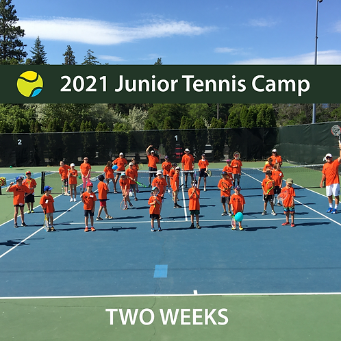 2021 Junior Summer Tennis Camp - 2 Weeks ** SOLD OUT **