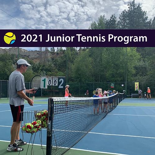 2021 Junior Program Registration