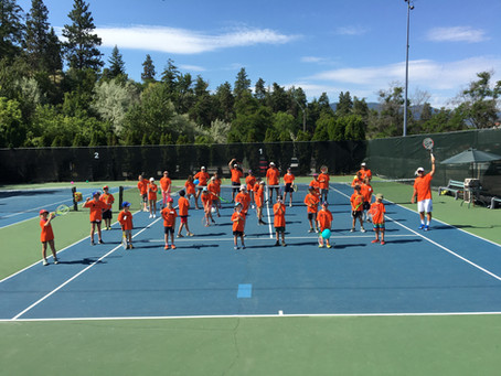 First Junior Tennis Camp Kicks Off!