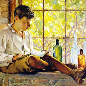 painting reading boy window.jpg