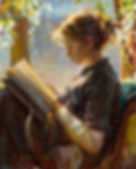painting reading girl sunlight.jpg
