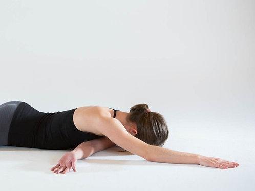Yin Yoga für Nacken und Schultern 77 min.