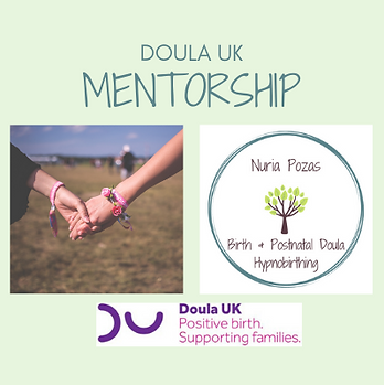 Doula UK Mentor - accompannying new doulas in their journey