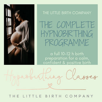 Hypnobirthing classes in Reading, Berkshire for a calm, confident and positive birth experience