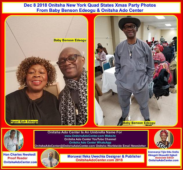 Onitsha Ado New York Quad States Christmas Party 2019 Dec 8 2018 Onitsha New York Xmas Party Photo Album 1 Click For