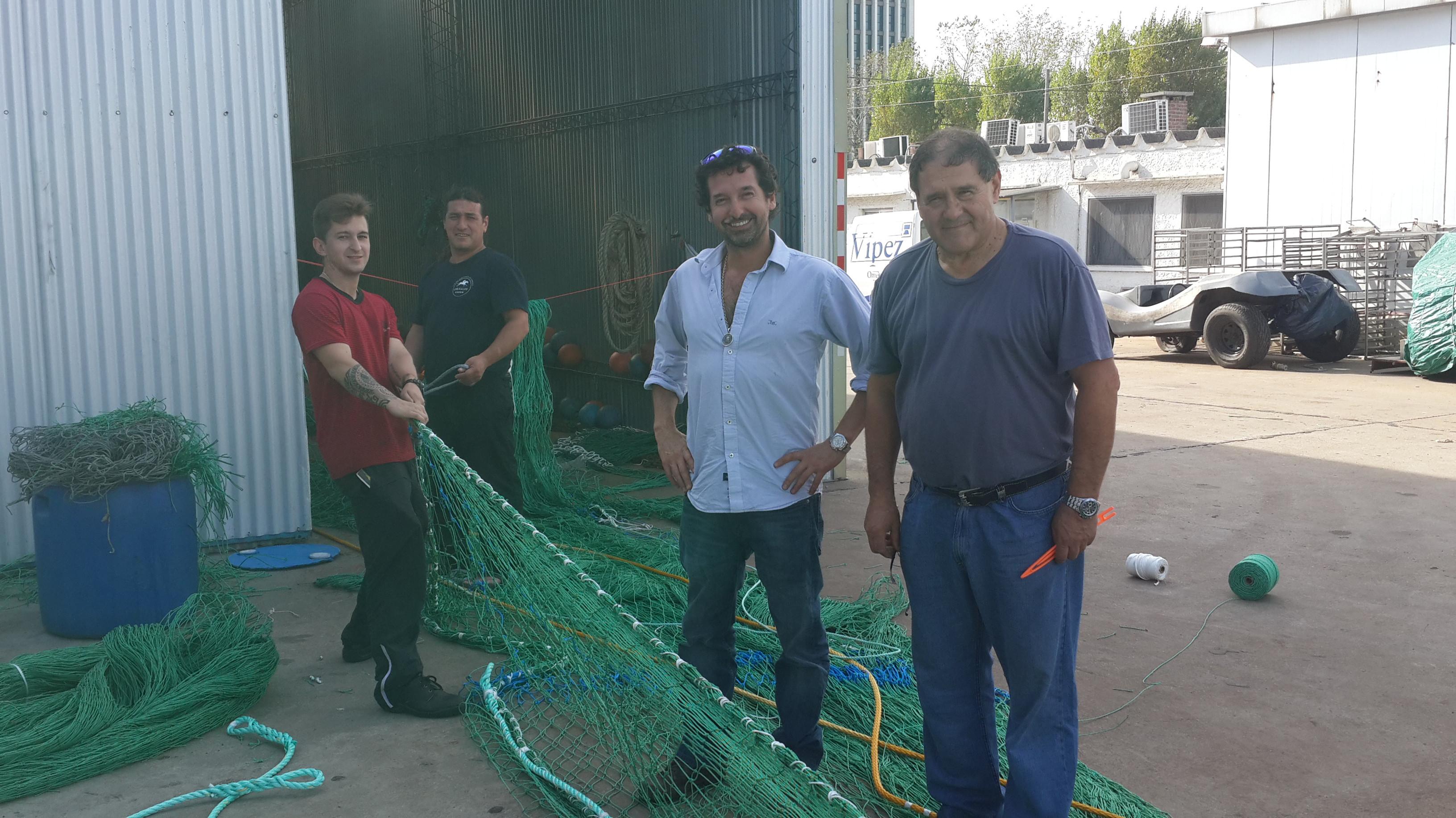 CONSTRUCTION OF FISHING NET