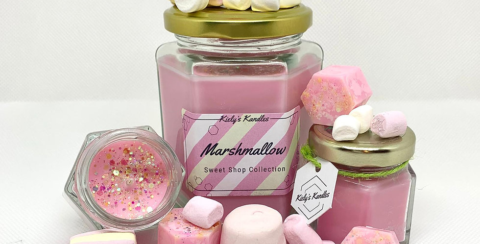 Marshmallow Candle