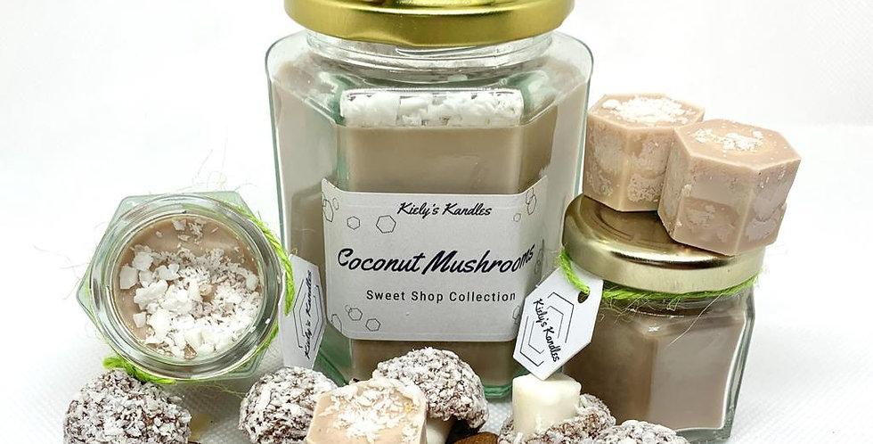 Coconut Mushrooms Candle
