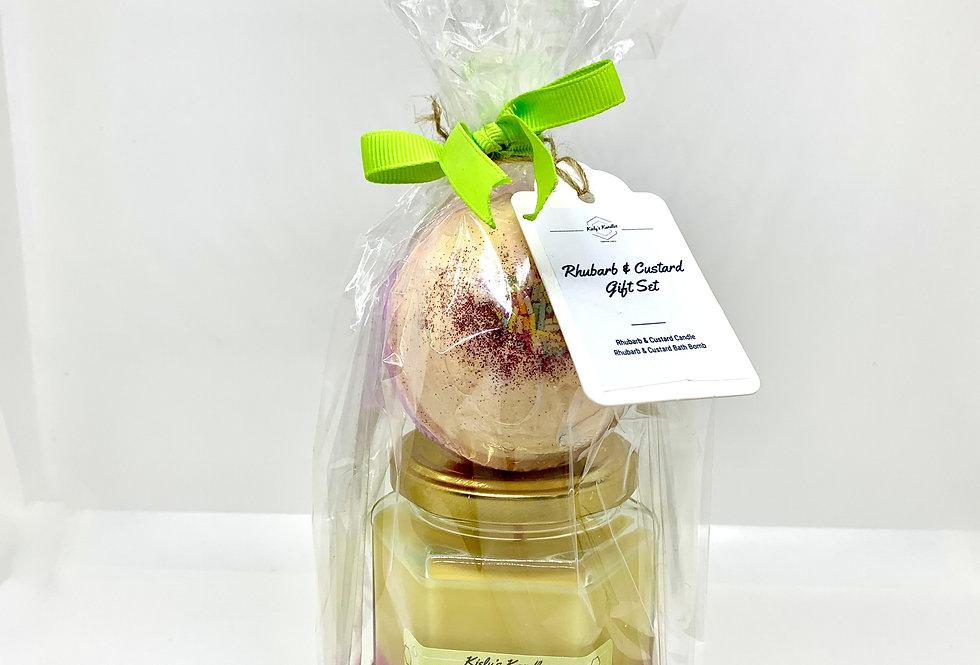 Rhubarb & Custard Gift Set