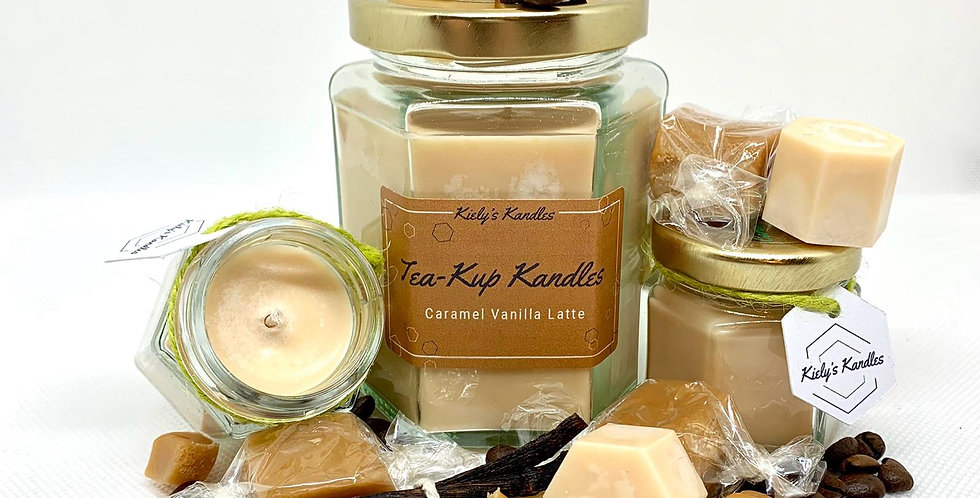 Caramel Vanilla Latte Candle