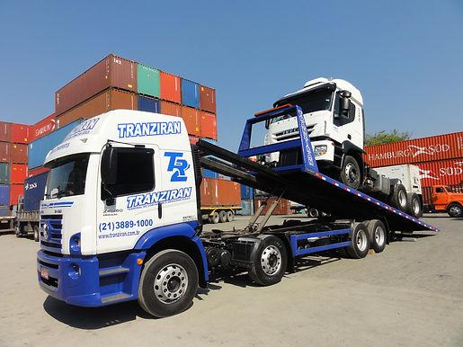 Caminhão Plataforma Tranziran