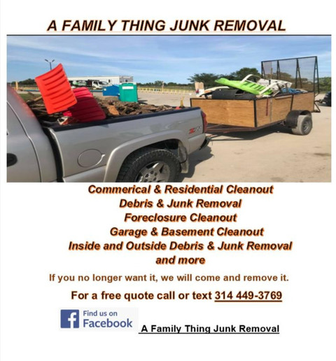 A Family Thing Junk Removal