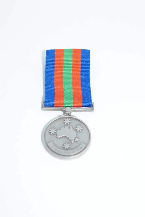 Border Protection Campaign Medallion