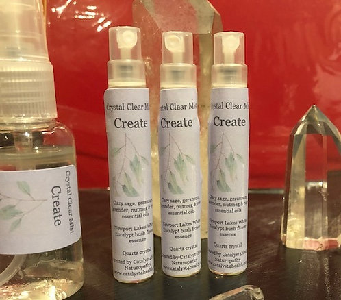 Crystal Clear Mist Spray - Create - 15ml