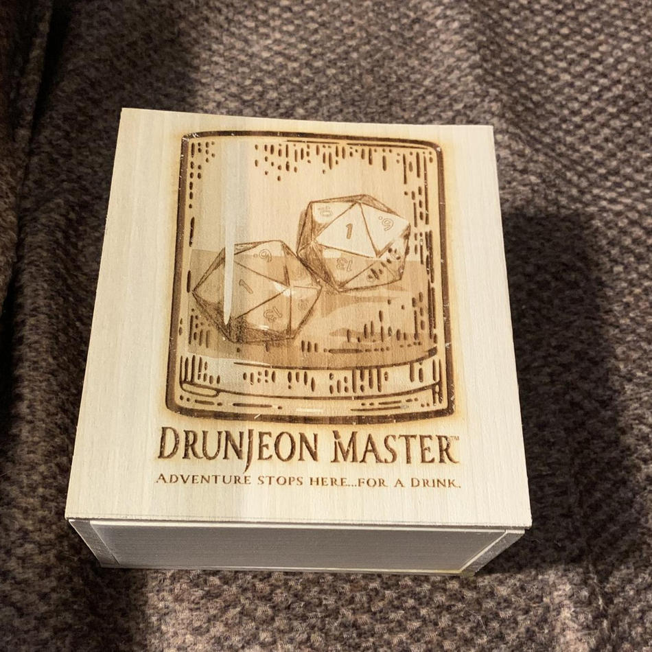 Drunjeon Master Dice Box