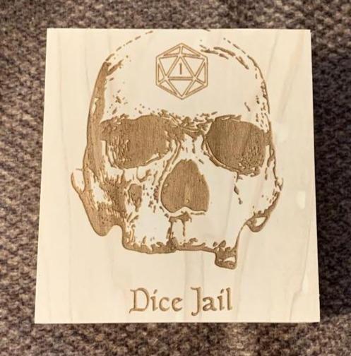 Drunjeon Master Dice Jail