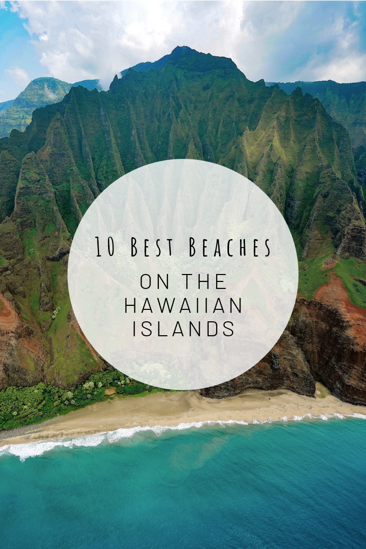 Pinterest image for 10 Best Beaches on the Hawaiian Islands