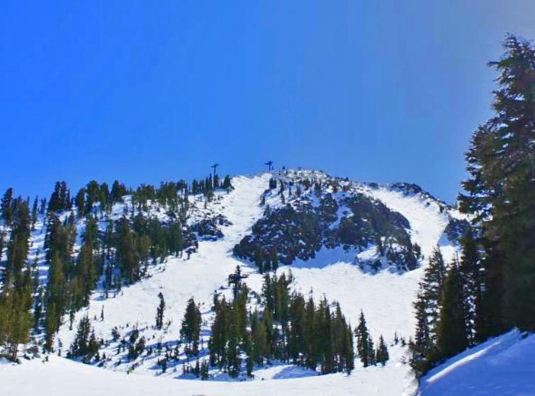 Avalanche Chutes or Avy Chutes Mammoth Mountain