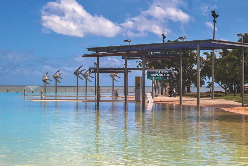 Photo of Cairns Esplanade Lagoon in Australia