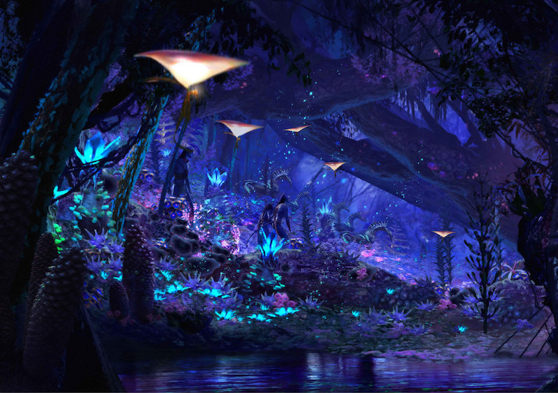 Na'vi River Journey in Pandora at Disney World's World of Avatar