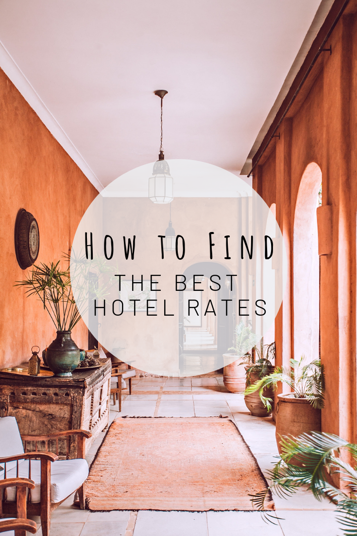 Pinterest image for how to find the best hotel rates
