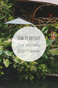 Pinterest photo for how to become the ultimate eco-traveler