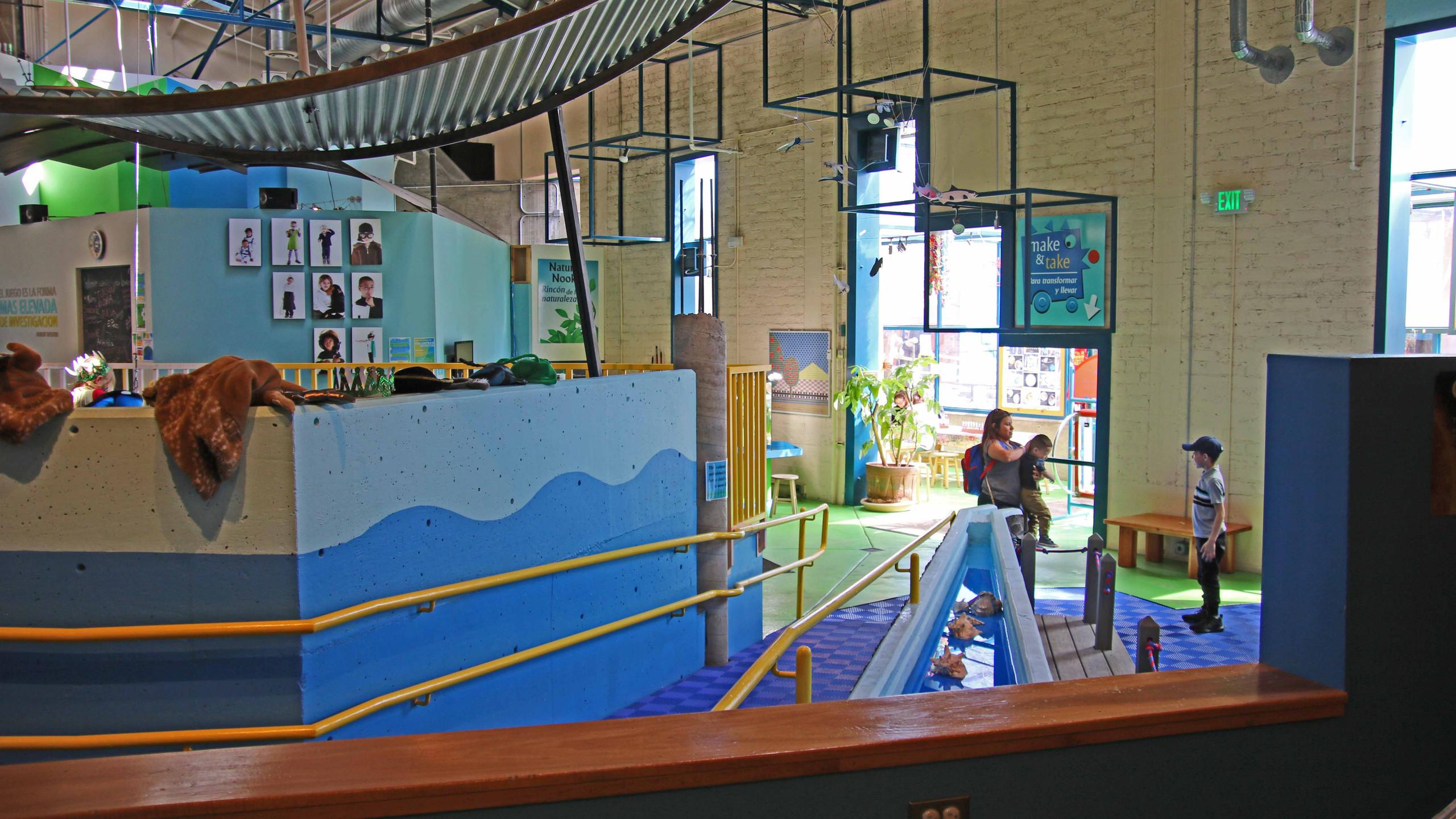 Interior of the Santa Fe Children's Museum