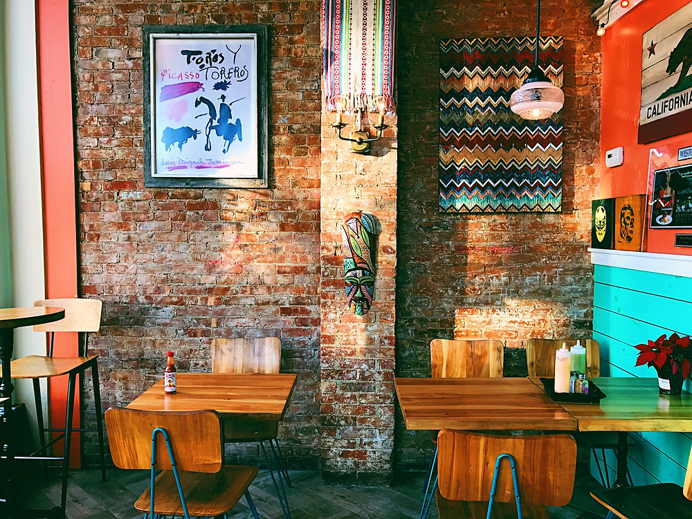 Bohemian restaurant that would attract laid back explorers