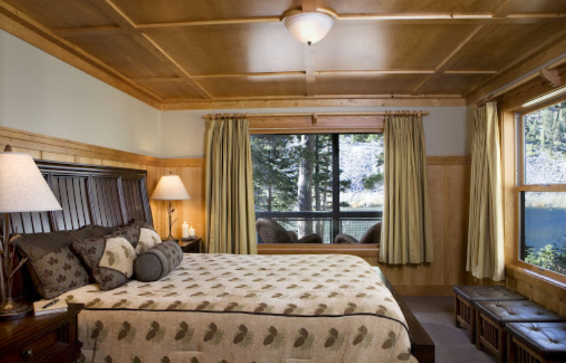 Room at Tamarack Lodge and Resort in Mammoth Lakes California