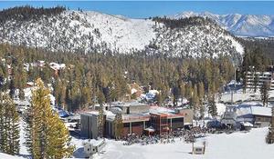 Canyon Lodge at Mammoth Mountain California