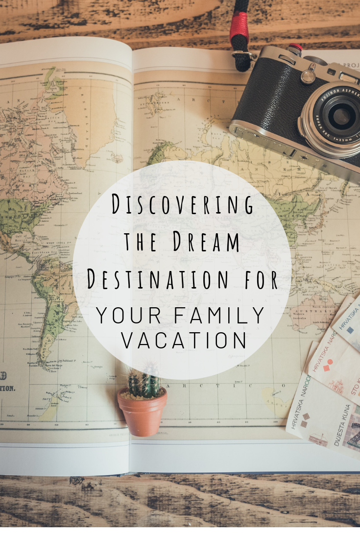 Pinterest photo for discovering the dream destination for your family vacation