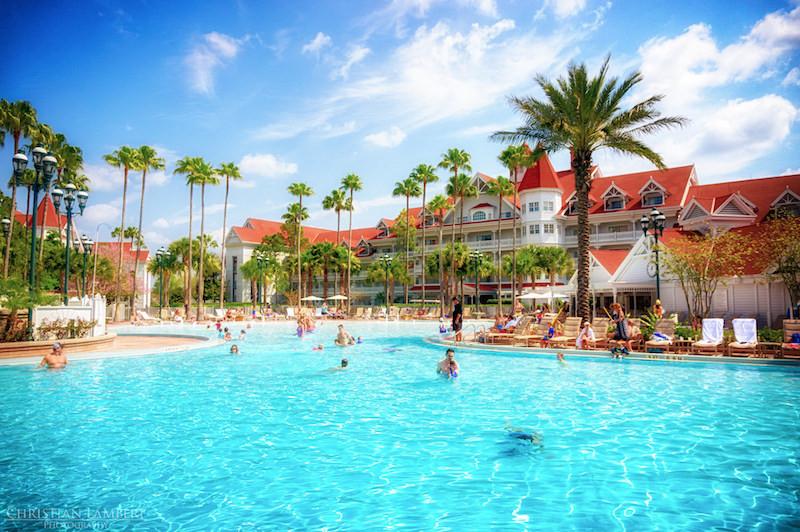 People in pool at Disney's Grand Floridian Resort & Spa