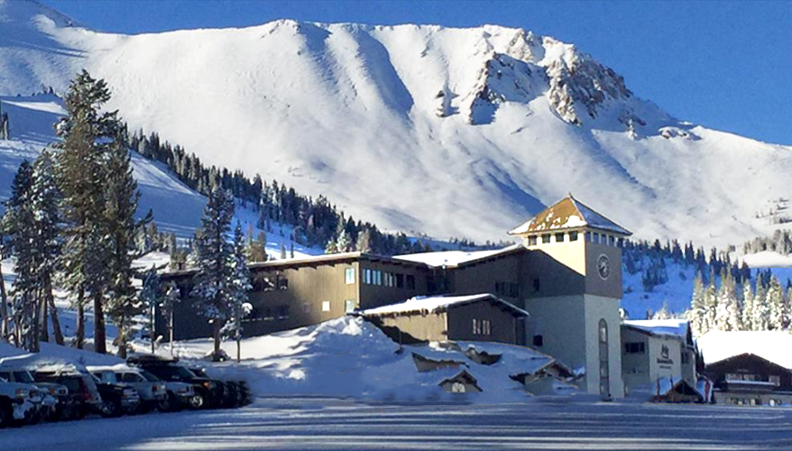 Main Lodge at Mammoth ski resort