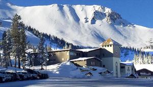 Main Lodge at Mammoth ski resort
