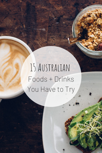 Pinterest photo of 15 Australian Foods + Drinks You Have to Try