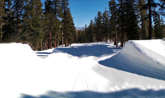 Jibs and More trail at Mammoth Lakes California