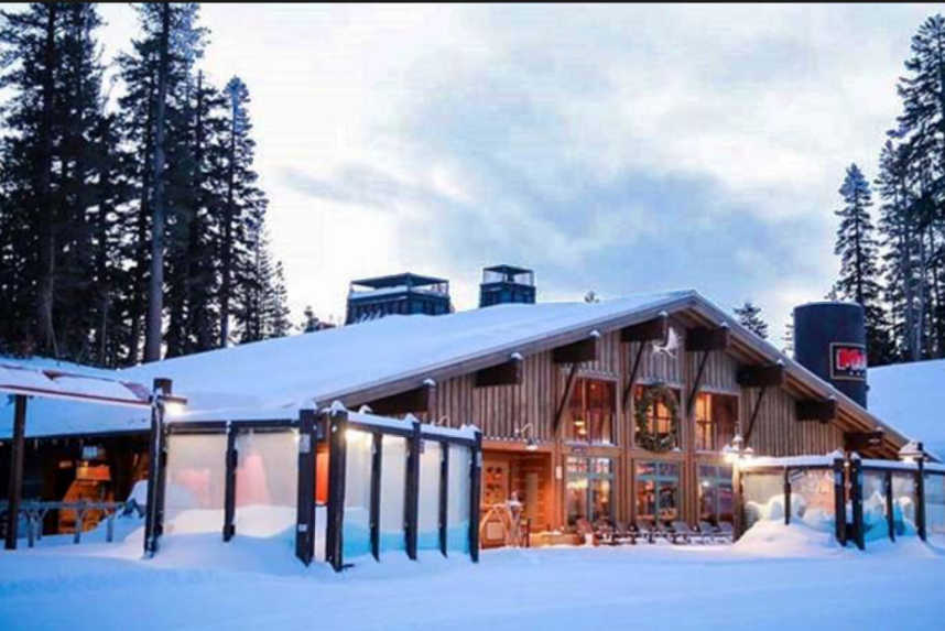 The Mill lodge at Mammoth Ski Resort