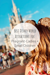 Pinterest photo of Best Disney World Attractions for Pregnant-Ladies and Small Children