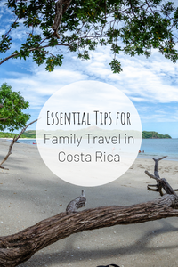 Pinterest image for Essential Tips for Family Travel in Costa Rica