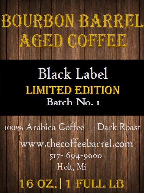 Bourbon Barrel Aged Coffee- PRE ORDER