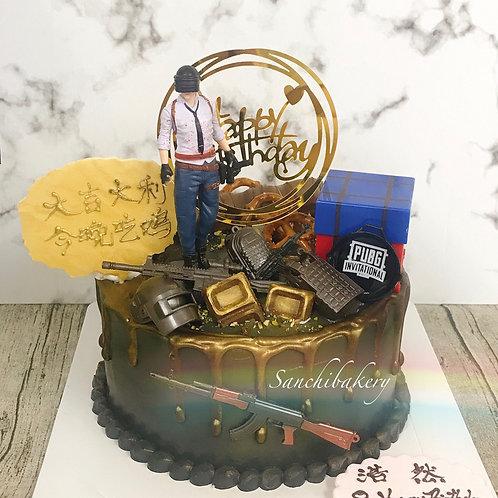 Pubg拉錢蛋糕(7吋)