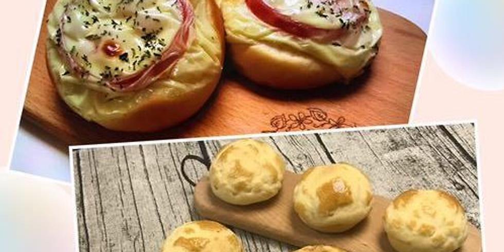 菠蘿包 & 蕃茄芝士包