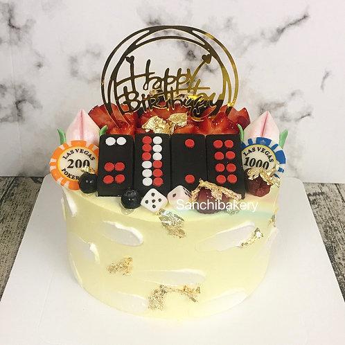 牌九拉錢蛋糕(6吋)