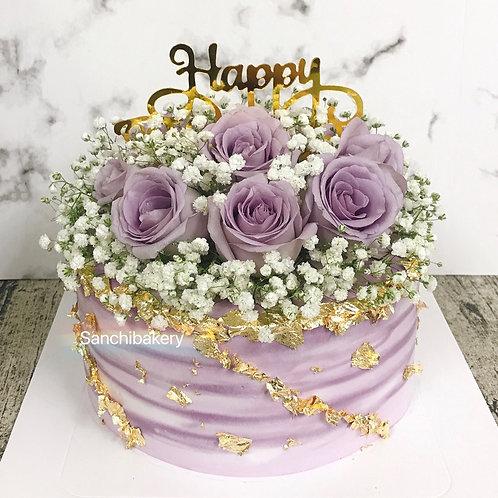 鮮花蛋糕(7吋)