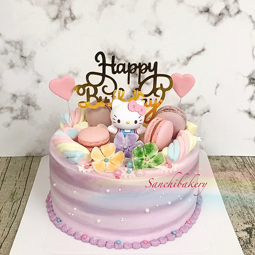 Hello Kitty蛋糕