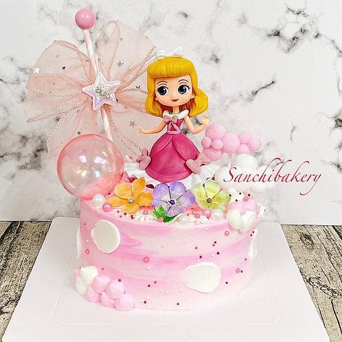 睡公主蛋糕(6吋)