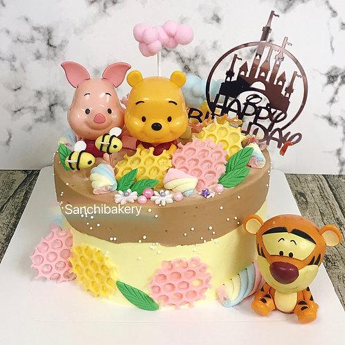 小熊維尼蛋糕(7吋)