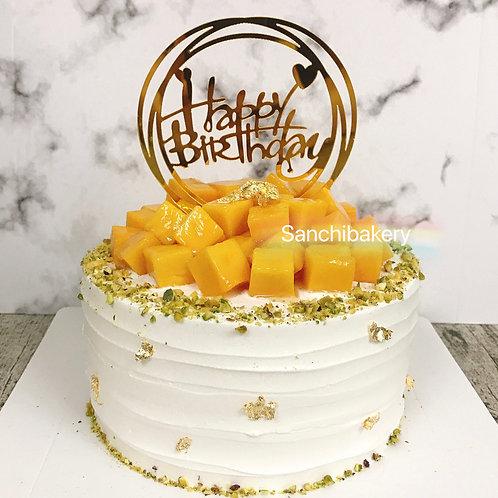 粒粒芒果拉錢蛋糕(6吋)