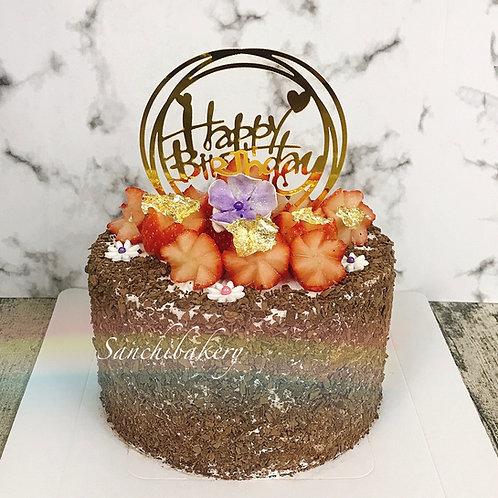 黑森林拉錢蛋糕(6吋)